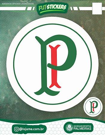 Cartela de 2 adesivos retrô Palestra Itália - Palmeiras
