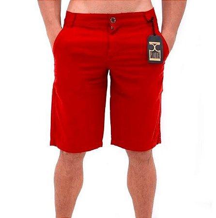 Bermuda de Sarja Masculina Vermelho