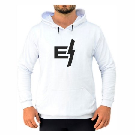 Moletom Branco Logo Minimal EFECT