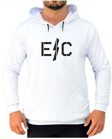 Moletom Branco Logo Raio EFECT