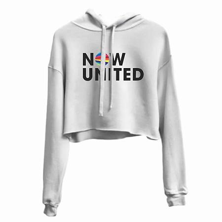 Moleton Cropped Now United Feminino