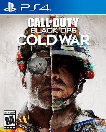 Call of Duty: Black Ops Cold War - Edição Padrão   PS4 MÍDIA DIGITAL