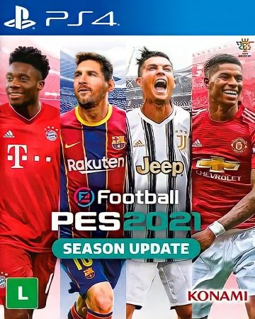 eFootball PES 2021 SEASON UPDATE | PS4 MÍDIA DIGITAL