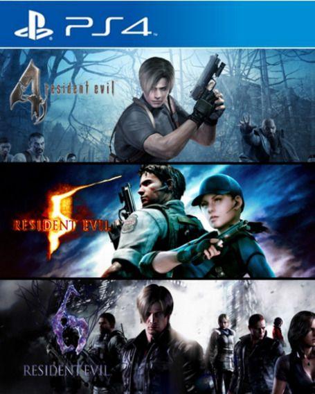 Resident Evil Triple Pack | PS4 MÍDIA DIGITAL