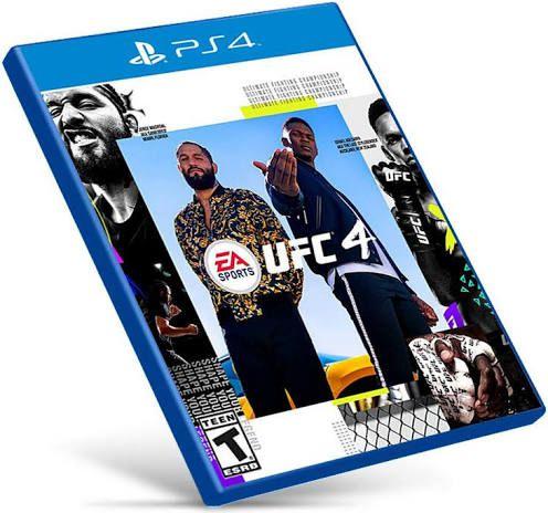 UFC 4 | PS4 MÍDIA DIGITAL