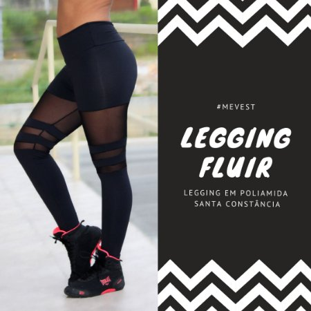 Legging Fluir Preto