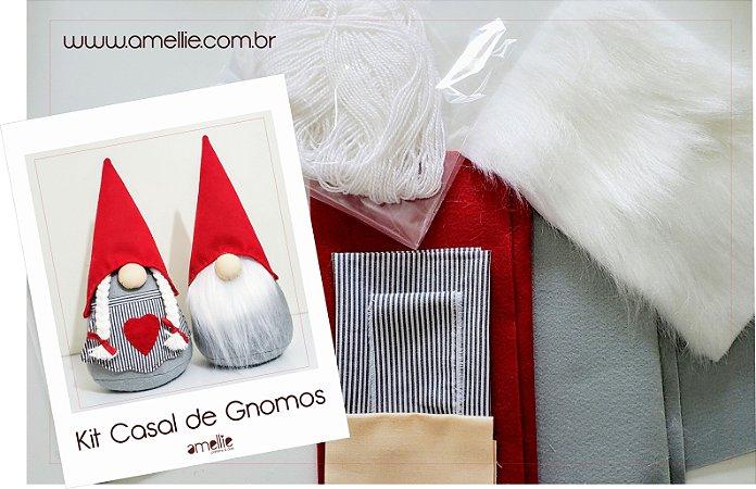 Kit Casal de Gnomos
