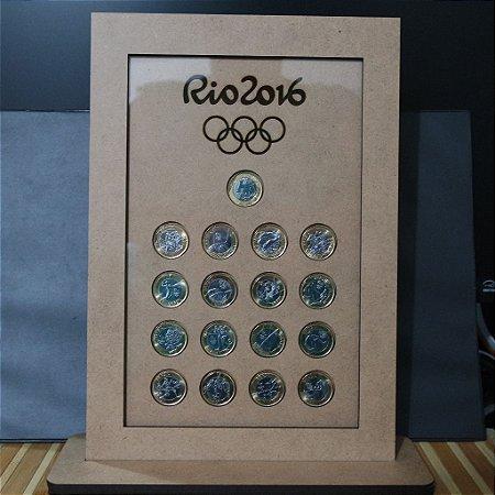 Quadro Para Moedas Olímpicas