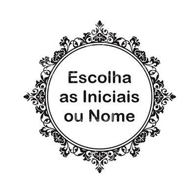 Arte de Monograma / Brasão Personalizado com as suas Iniciais / Nomes (Modelo da Foto do Anúncio) para Impressão em Geral