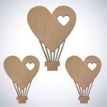 Silhueta de Balões Decorativo em Mdf - Várias opções de Tamanho