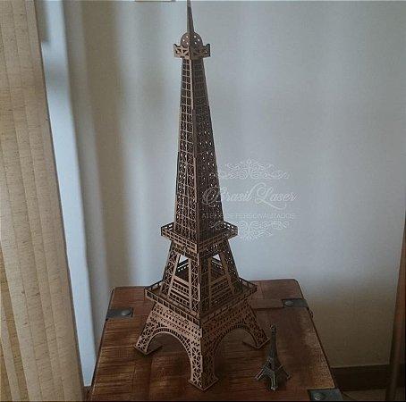 Torre Eiffel Paris em Mdf com 64 cm de altura  - EXCLUSIVO