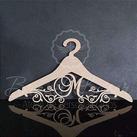 Cabide 15 Anos Personalizado com o Nome da Debutante ou Noivos Casamento