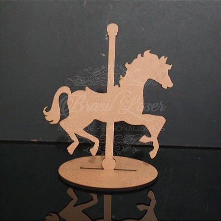 10 ou 15 Unidades - Centro de Mesa Cavalo Carrossel (Não Personalizado) - Opções de Quantidade e Cor dentro do Anuncio