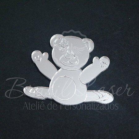 1 Aplique Para Decoração ( Ursa Bailarinha / Ursinho ) - Ver opções dentro do anúncio - Quantidade Mínima : 10 Unidades iguais