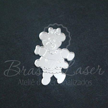 1 Aplique Para Decoração ( Ursa / Ursinho ) - Ver opções dentro do anúncio - Quantidade Mínima : 10 Unidades iguais