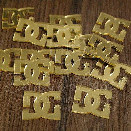 1 Aplique Para Laços ( DG DOLCE & GABBANA - Marcas Famosas) - Ver opções dentro do anúncio - Quantidade Mínima : 10 Unidades iguais