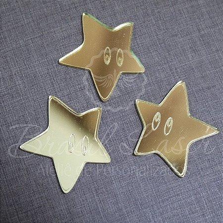 1 Aplique Para Decoração Estrela - Ver opções dentro do anúncio - Quantidade Mínima : 10 Unidades iguais