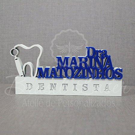 Decoração para Dentista / Formatura de Odontologia com Nome Personalizado - **Cor e tamanho são selecionados dentro do anuncio para ver cada preço**