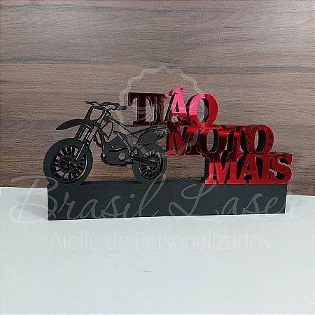Decoração para Motociclista / Loja de Motos / Piloto de Motocross com Nome Personalizado - **Cor e tamanho são selecionados dentro do anuncio para ver cada preço**