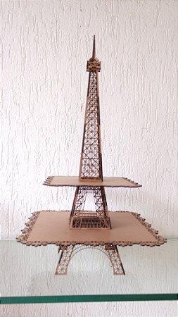 Torre 2 Bandejas formato Torre Eiffel EXCLUSIVO
