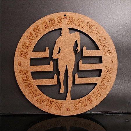 MINI Porta Medalhas Corrida Estilo Mandala 20cm