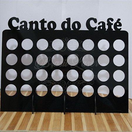 Porta Cápsulas Compatível com Cápsulas Nespresso para 32 Cápsulas  PERSONALIZADO - Cor e Tipo Material a Escolher