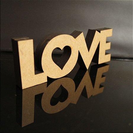 Palavra Love com 18 mm - Tamanhos disponibilizados na opção do anúncio
