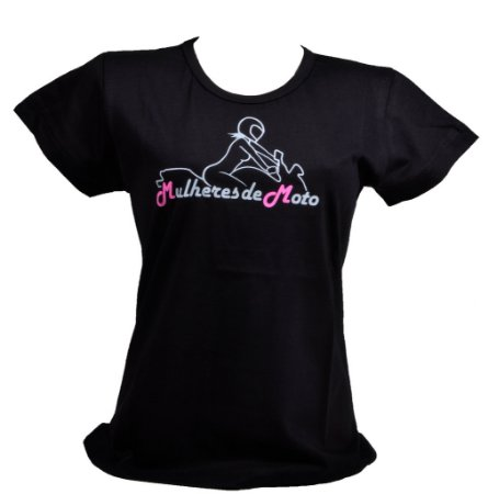 Camiseta Mulheres de Moto