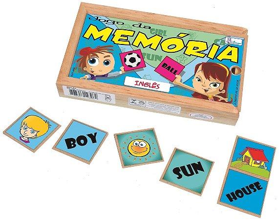 Jogo da Memória Inglês