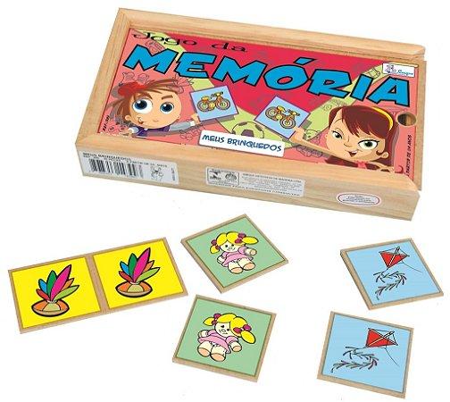 Jogo da Memória Meus Brinquedos