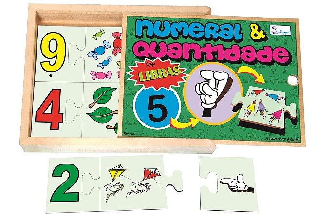 Numeral e Quantidade com Libras
