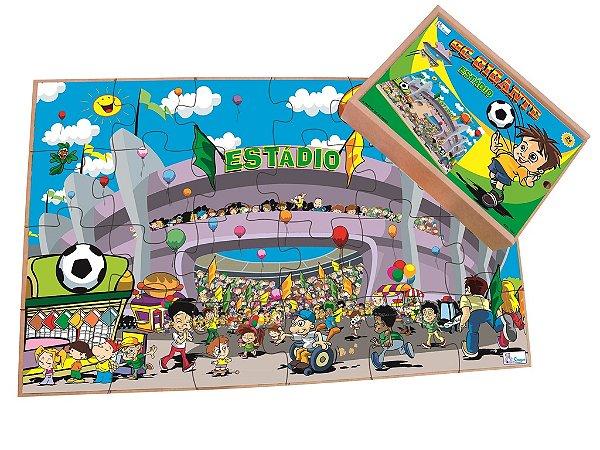 Quebra Cabeça Gigante Estadio - 12 pçs