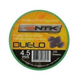 CHUMBINHO DUELO 4,5MM C/ 250 PC NAUTIKA