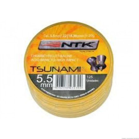 CHUMBINHO TSUNAMI 5,5MM C/ 125UN NAUTIKA