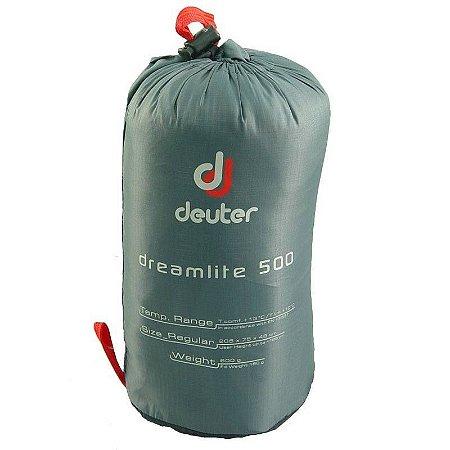 SACO DE DORMIR DREAM LITE 500 -3C+10C+13C CINZA/VERMELHO DEUTER i