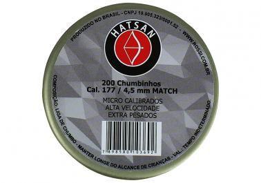 CHUMBINHO MATCH 4,5MM (200 UN) HATSAN ROSSI i