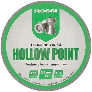 CHUMBINHO HOLLOW POINT 5,5MM (250 UN) ROSSI i