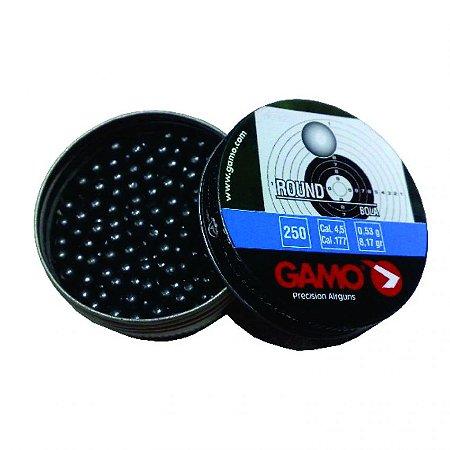 CHUMBINHO ROUND 250PCS 4,5MM GAMO