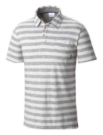 POLO LOOKOUT POINT GREY ASH MASCULINO AM6271 COLUMBIA