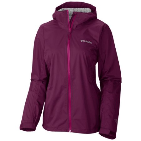 JAQUETA EVAPOURATION JACKET DARK RASPBERRY FEMININO RL2023 COLUMBIA