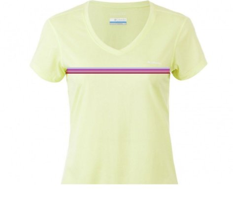 CAMISETA MANGA CURTA TECH TREK ICE GREEN FEMININO AL1917 COLUMBIA