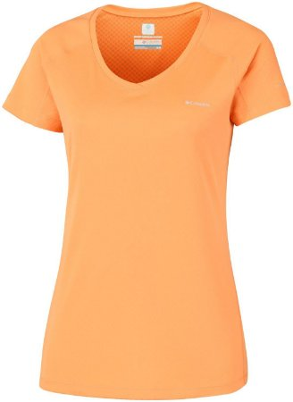 CAMISETA MANGA CURTA ZERO RULES SHORT SLEEVE SHIRT SUMMER ORANGE AL6914 COLUMBIA