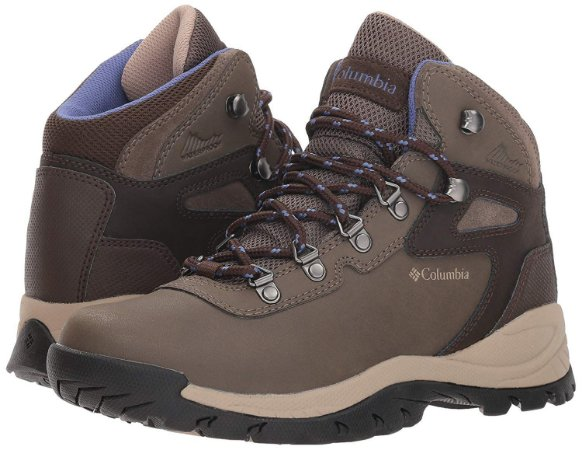 BOTA NEWTON RIDGE PLUS MUD EVE MARRON FEMININO BL3783 COLUMBIA