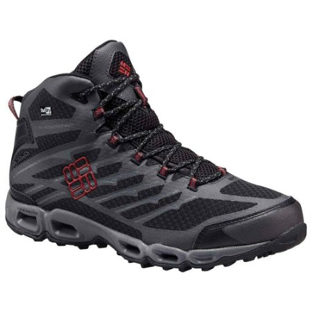 BOTA VENTRAILIA II MID OUTDRY  BLACK, MOUNTAIN RED 42 BM1754 COLUMBIA