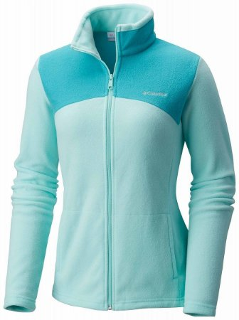 JAQUETA WESTERN RIDGE FULL ZIP BLUEGLASS, MIAMI G AL0495 COLUMBIA