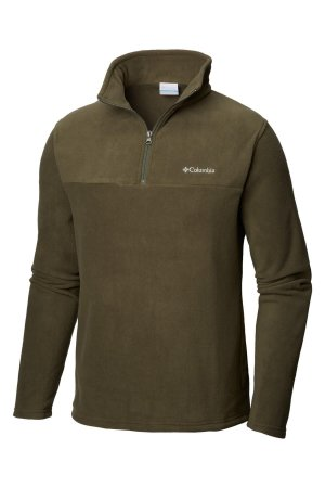 BLUSÃO FLEECE WESTERN RIDGE HALF PEATMOSS MASCULINO AM0025 COLUMBIA