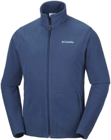 JAQUETA FLEECE FAST TREK II FULL ZIP CARBON MASCULINO AM3039 COLUMBIA