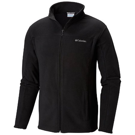 JAQUETA FLEECE WESTERN RIDGE FULL ZIP PRETO MASCULINO AO0057 COLUMBIA