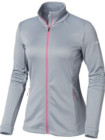 JAQUETA FLEECE ABBEY LAKE TRADEWINDS GREY FEMININO EL1276032 COLUMBIA