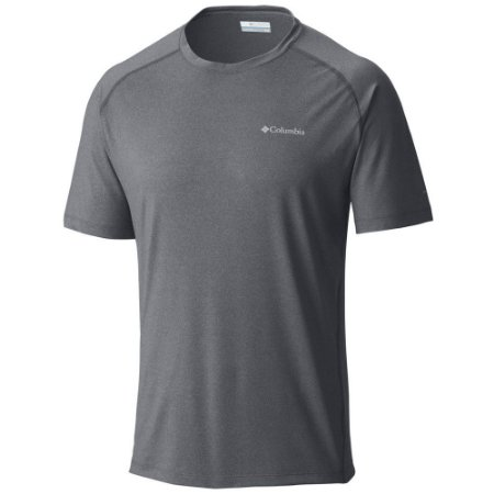 CAMISETA MANGA CURTA TUK MOUNTAIN GRAPHITE HEATHER MASCULINO AM1555 053 COLUMBIA
